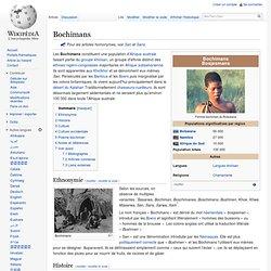 Bochimans