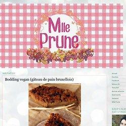 Bodding vegan (gâteau de pain bruxellois)