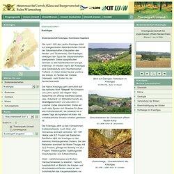 Bodenlandschaft Kraichgau, fruchtbares Hügelland (Themenpark Umwelt)