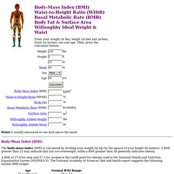 Body-Mass Index, Waist-to-Height Ratio and More...