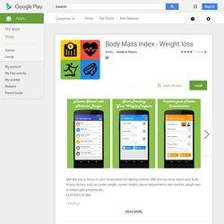 Body Mass Index - Weight loss