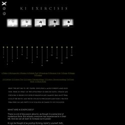 Body Mind And Modem: Ki Exercises