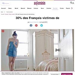 Le body-shaming touche 30% des Français