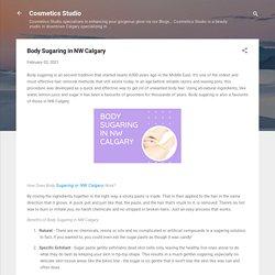 Body Sugaring in NW Calgary