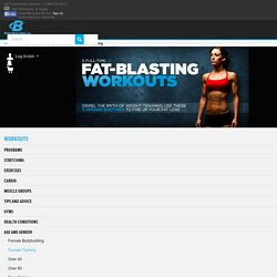 5 Full-Time Fat-Blasting Workouts: Weight Training For Fat Loss!