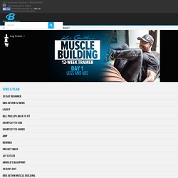 Kris Gethin's Muscle-Building Trainer, Day 1
