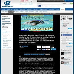 Cardio Series: Swimming - The Butterfly!