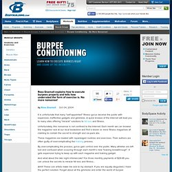 Burpee Conditioning - No More Nonsense!