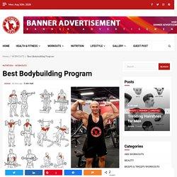 Best Bodybuilding Program