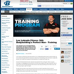 Lee Labrada Fitness 360: Bodybuilding's Perfect Man - Training