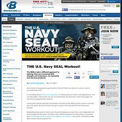 THE U.S. Navy SEAL Workout!