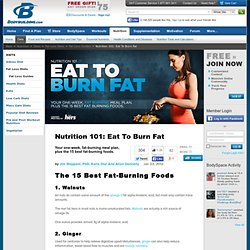 Nutrition 101: Eat To Burn Fat - StumbleUpon