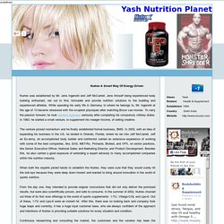 Online Nutrex Bodybuilding Fitness Supplements Store Seller