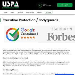 Bodyguards - Executive Protection