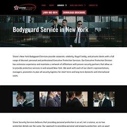 New York Armed Bodyguards
