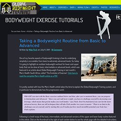 Bodyweight Exercise Routines from Basic to Advanced