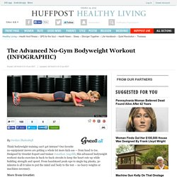 The Advanced No-Gym Bodyweight Workout (INFOGRAPHIC)