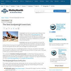 Best Bodyweight Exercises for Fitness and Weight Loss | MotleyHealth®