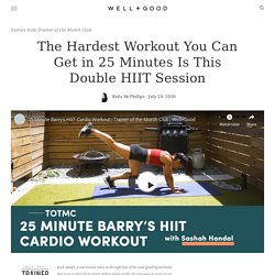 This Bodyweight HIIT Workout Combines 2 Types of HIIT