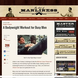 Bodyweight Workout for Busy Men