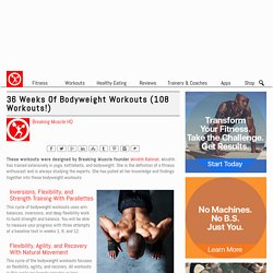 18 Weeks of Free Bodyweight Workouts (54 Workouts!)