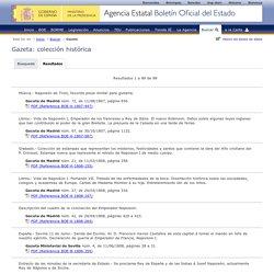 """BOE.es - (""""Bulletin Officiel de l'Etat"""" Espagnol)"""