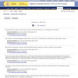 Bulletin Officciel de l'Etat Espagnol