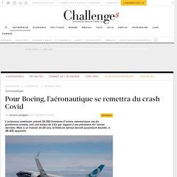 Pour Boeing, l'aéronautique se remettra du crash Covid