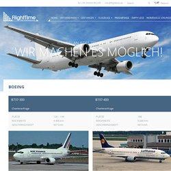Boeing, Boeing Business Jet / FlightTime