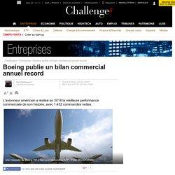 Boeing publie un bilan commercial annuel record