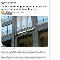 Le DG de Boeing attendu au tournant après une année tumultueuse