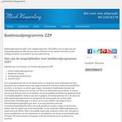 Boekhoudprogramma zzp – Administratie Voor Beginners