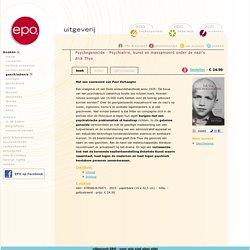 Psychogenocide. Psychiatrie, kunst en massamoord onder de nazi's.