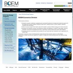 BOEM Economics Division