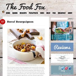 Boeuf Bourguignon « The Food Fox