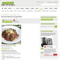Boeuf à la japonaise : la recette avec L'Internaute