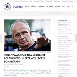 Prof. Szwagrzyk: Dla młodych Polaków żołnierze wyklęci są bohaterami - RadioMaryja.pl