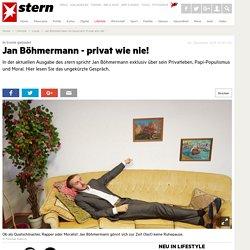 Jan Böhmermann im Gespräch: Privat wie nie! - Leute