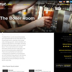 The Boiler Room New York City.com : Profile