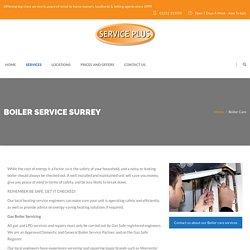Boiler Service Surrey