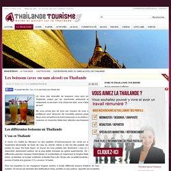 Les boissons (avec ou sans alcool) en Thailande - Thailande Tourisme