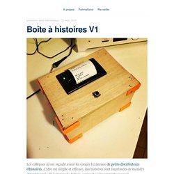 Boîte à histoires V1 – blog.animtic