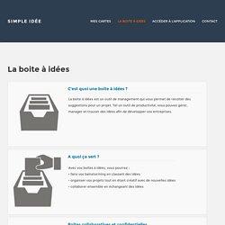La boite à idées : Outil de management et de suggestions