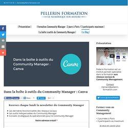 Dans la boîte à outils du Community Manager : Canva