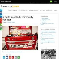 La boite à outils du Community manager