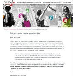Boite à outils d'éducation active - CEMEA Pays de la Loire