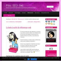 La boite à outils du référenceur web