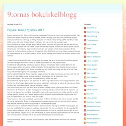 9:ornas bokcirkelblogg: Pojken i randig pyjamas, del 3