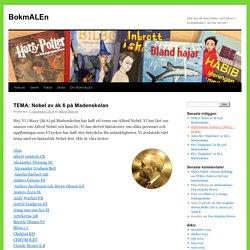 Här kan du låna böcker som elever i Grundskolan i Ale har skrivit.