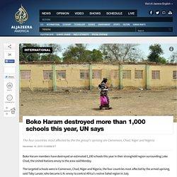 Boko Haram Destroyed More Than 1000 Schools: UN